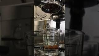 Doppio espresso.
