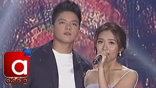 "Kathryn, Daniel sing ""Nothings Gonna Stop Us Now"" on ASAP"