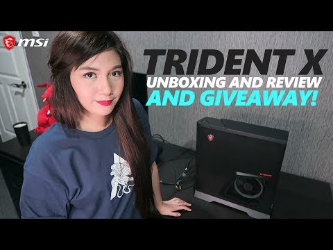 MSI Trident X Plus Unboxing and Review (+GIVEAWAY)