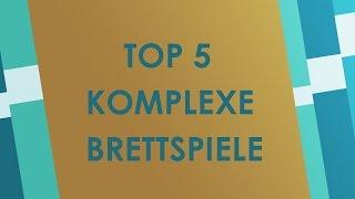 Top 5 komplexe Brettspiele