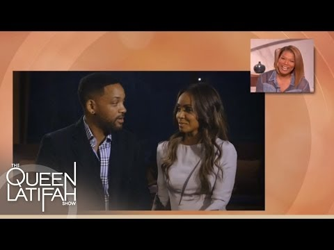 Will and Jada Wish Queen Latifah a