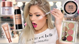 TESTING NEW DRUGSTORE MAKEUP | FULL FACE FIRST IMPRESSIONS - Video Youtube