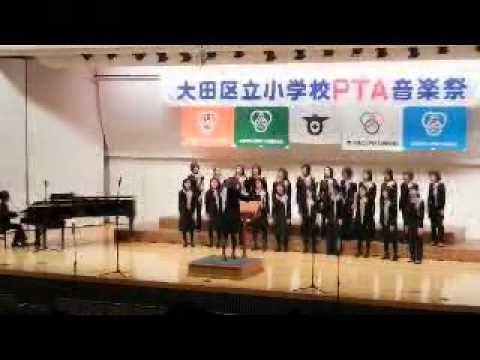 嶺町小学校コーラス部(音楽祭)