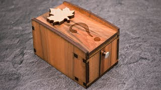 This Trick Box is locked by an Ingeniously Clever Mechanism - The Radbox