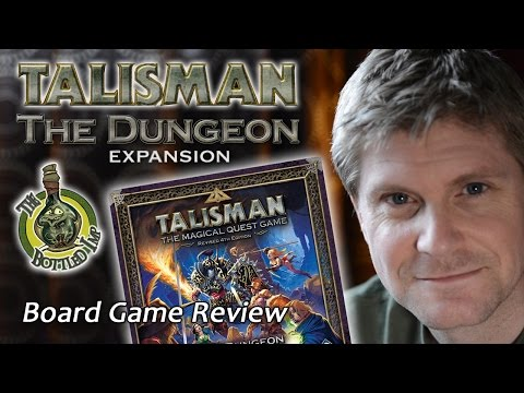 The Dungeon Expansion for Talisman - The Bottled Imp Review