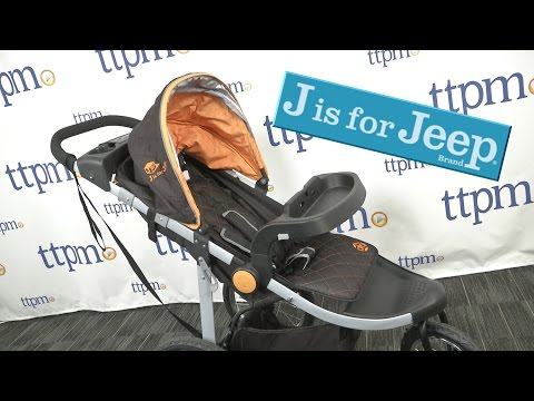 J is for Jeep Cross-Country All-Terrain Jogging Stroller from Delta Children's Products