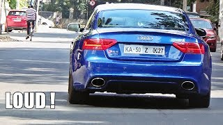 LOUD Audi RS5 w/ Capristo Exhaust Stage 1 Tune (Crackles & Pops)