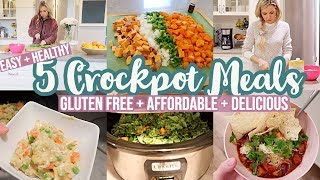 5 EASY + HEALTHY CROCKPOT MEALS // COOK WITH ME 2020 // TIFFANI BEASTON HOMEMAKING MOTIVATION