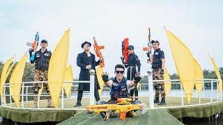 LTT Nerf War : SEAL X Warriors Nerf Guns Fight Criminal Group Dr Mundo Intrusion Steal Weapons