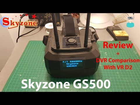 skyzone-gs500--best-boxed-style-fpv-goggles--unboxing-review-and-dvr-footage
