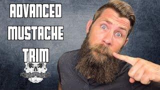 A Big Mustache Trim   Advanced Technique for Beginners!!!