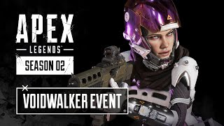Listen to the voices in the Apex Legends Voidwalker event, featuring an exclusive Wraith Voidwalker skin, a secret underground Wraith town takeover, an all-new limited-time mode, and more!    Play for free now on Xbox One, PlayStation 4, and Origin for PC: http://x.ea.com/57366.   Check out our YouTube channel: http://x.ea.com/56710. Follow us on Twitter: https://twitter.com/playapex. Follow us on Instagram: https://www.instagram.com/playapex/.