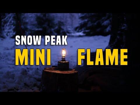 Snow Peak Mini Flame Camping Laterne/Kerze - Testbericht Gear Review