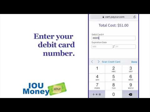 How to use IOU Money