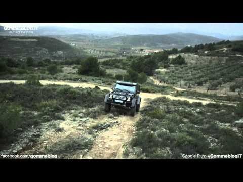 Mercedes G500 4×4² Concept | OFFROAD TEST DRIVE