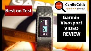 Garmin Vivosport Review - the best GPS featured fitness tracker of 2018