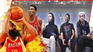 Can Scottie Pippen Really LOCKUP James Harden?! (NBA 2K19 Blacktop Gameplay)