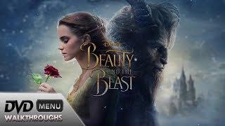 Beauty and the Beast (2017) DvD Menu Walkthrough