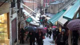 preview picture of video 'Travel Europe, Day 3 & 4 in Venice, Italy (01) - Arrivi in the Rain'