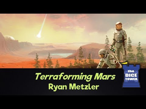 Dice Tower Reviews - Terraforming Mars (+Hellas/Elysium, InsertHere.me Insert, and BoardGameBoost Overlays) w/ Ryan Metzler