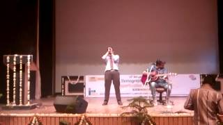 Live Performance|Aadat|College|HIMCS|Mathura|Guitar