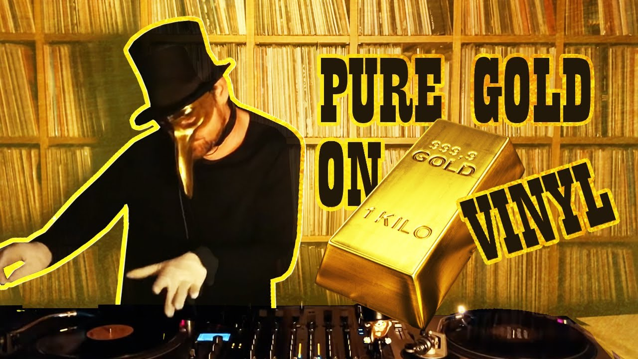 Claptone - Live @ Home, Pure Gold on Vinyl 2020