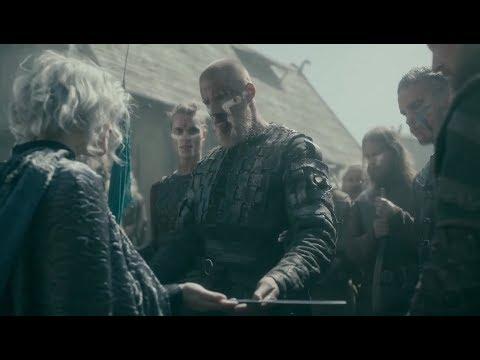 Vikings: Bjorn Becomes King of Kattegat [5x20] (Season 5B Scene) [HD]   Premium Media