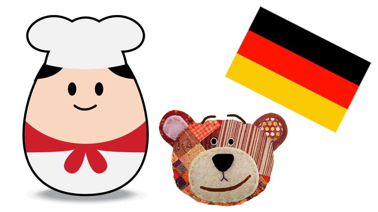 Profesiones con Traposo - Alemán para niños