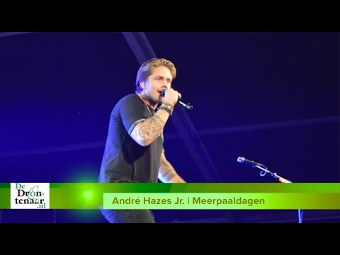 VIDEO | André Hazes Jr. krijgt kippenvel van Dronten en de Meerpaaldagen