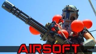 Airsoft Minigun Juggernaut
