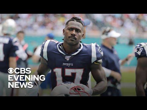 New England Patriots release Antonio Brown