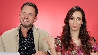 Troian Bellisario And Patrick J. Adams Take The Relationship Test