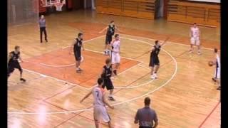 preview picture of video 'Litija : AKK Branik Maribor 87:77'