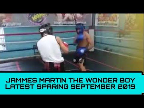 Carl Jammes Martin The Wonder Boy Latest Heavy training september 2019