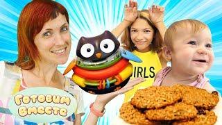 Готовим с Машей Капуки - Печенье для Бьянки