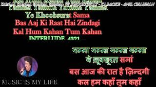 Yamma Yamma Yamma Yamma Ye Khoobsurat - Karaoke With Scrolling Lyrics Eng.& हिंदी