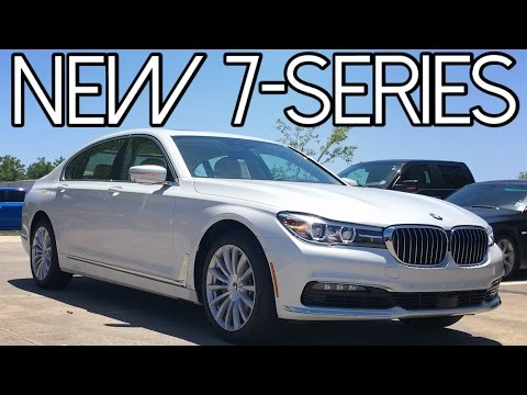 2016 BMW 7 Series 740i Full Review, Start Up, Exhaust
