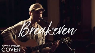 Breakeven   The Script (Boyce Avenue Acoustic Cover) On Spotify & Apple