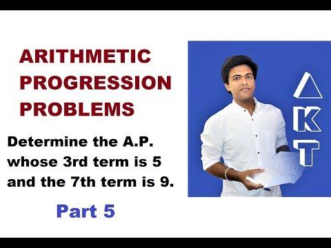 Arithmetic Progression Problems: Class 10: PART 5