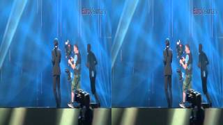 Donny Montell - Love Is Blind - 3D - Eurovision Song Contest - Lithuania 2012 - Semi-final 2