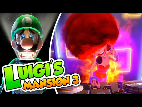 ¡DJ Peluca! - #19 - Luigi's Mansion 3 (Switch) Dsimphony y Naishys