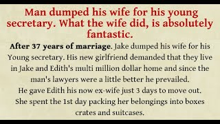 DIVORCE AFTER 37 YEARS