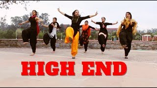 Gambar cover HIGH END CONFIDENTIAL | DILJIT DOSANJH | REMIX | BHANGRA | CHOREOGRAPHY