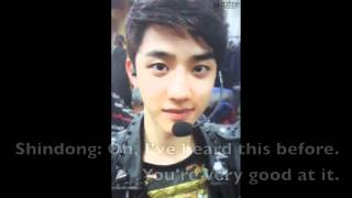[Baekhyun & D.O. Funny Cut] 120621 EXO-K - Shim Shim Tapa