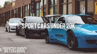 TOP 5 SPORT CARS UNDER 20K!