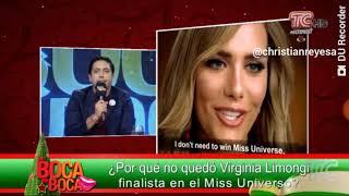 ¿Por qué no quedó Virginia Limongi finalista en el Miss Universo? 🍋👑👸 #MissUniverse2018