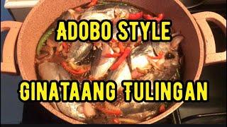 QUICK DINNER MENU - GINATAANG TULINGAN ADOBO STYLE #lutonghapunan #lutongbahay