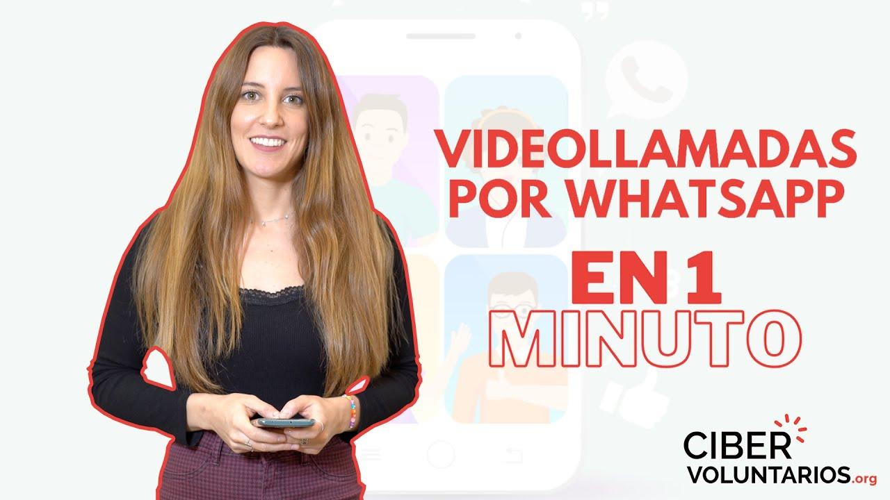 Vídeollamadas por Whatsapp En 1 Minuto