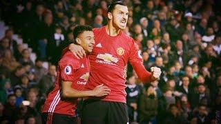 Все голы Ибрагимовича за Манчестер Юнайтед