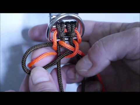 Paracord Hundehalsband Wide Solomon #www.gelisatelier.de